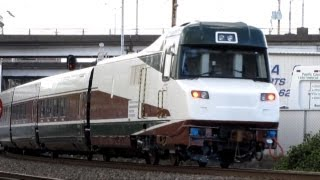 New Amtrak Cascade Talgo Set Through Portland (984-Extra)(HD)