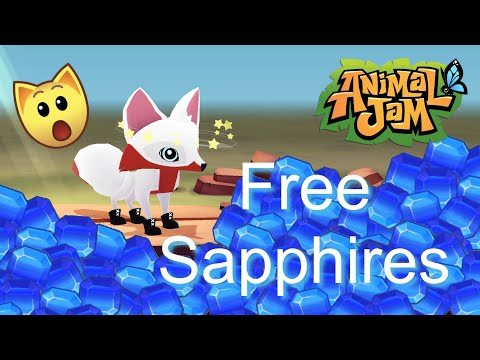 Animal Jam Play Wild: 12 Ways To Get FREE Sapphires !!Secret Reveal!!