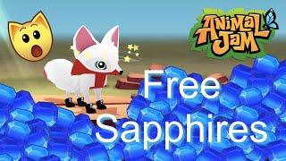 Animal Jam Play Wild: 12 Wąys To Get FREE Sapphires !!Secret Reveal!!