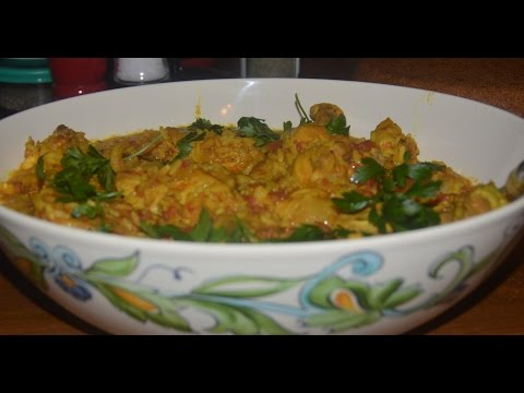 A How To Recipe for a Delicious Curry Chicken & Rice from Dawn of Edmonton, Alberta Canada