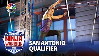Barclay Stockett at the San Antonio Qualifiers - American Ninja Warrior 2017