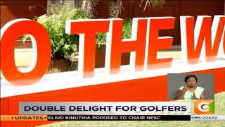 Double delight for golfers