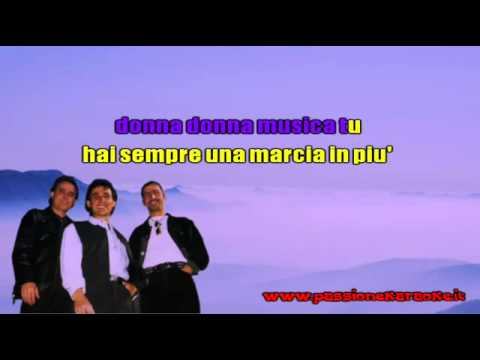COLLAGE   Donna musica   KARAOKE instrumental   YouTube