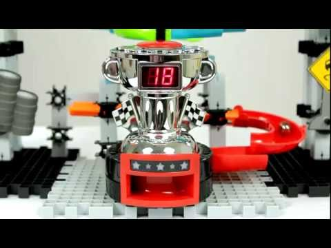 Twin Turbo Trax 20 Techno Gears Marble Mania Race Series Youtube