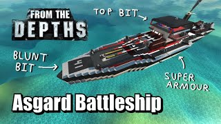 Asgard Battleship - Subscriber Craft Review