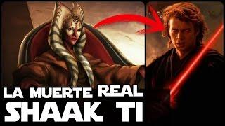 Star wars ¿Cual Es La muerte REAL De Shaak Ti?