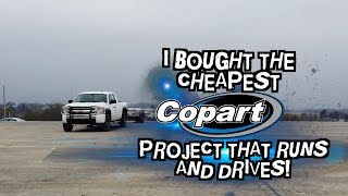 New Copart budget build reveal