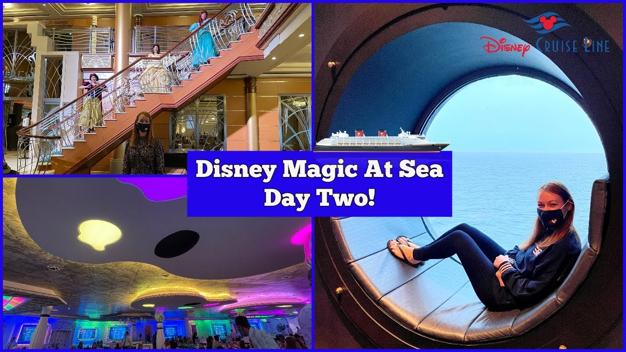 Day 2 At Sea! Animator's Palate - Disney Magic At Sea UK Staycation Cruise! DCL Vlogs l aclaireytale
