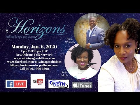 Horizons Meets:   Brian W. Smith and Author Kesh Nicole