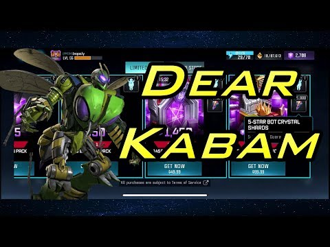 Dear Kabam - Boycott | Waspinator Exploit | Negligence - Transformers: Forged to Fight