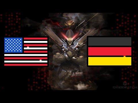 USA vs Germany   Overwatch World Cup 2017   Santa Monica Qualifier