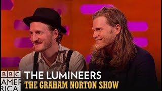 Are The Lumineers and Woody Harrelson Long Lost Twins? | The Graham Norton Show | BBC America