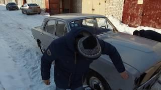 Внук нашел и выкупил у перекупа дедовскую Волгу Газ 24. Roadkill по-русски
