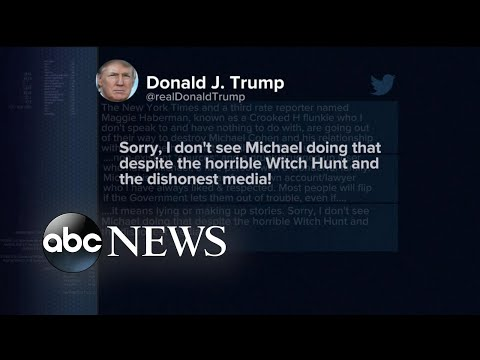 Trump spends the weekend lashing out against the media on Twitter