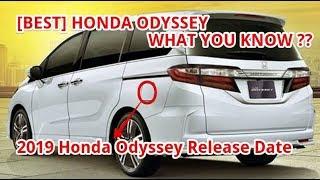 [BEST] 2019 Honda Odyssey Release Date