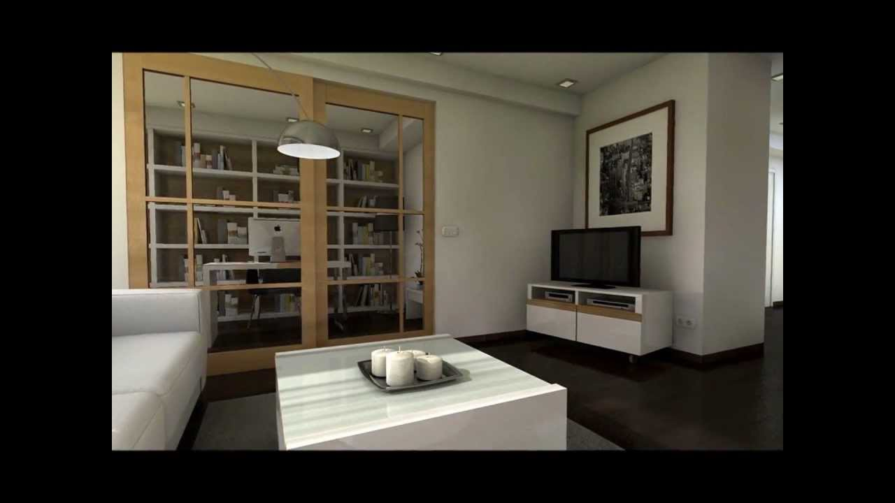 Dise o interior proyecto reforma casa unifamiliar youtube for Diseno de la casa interior