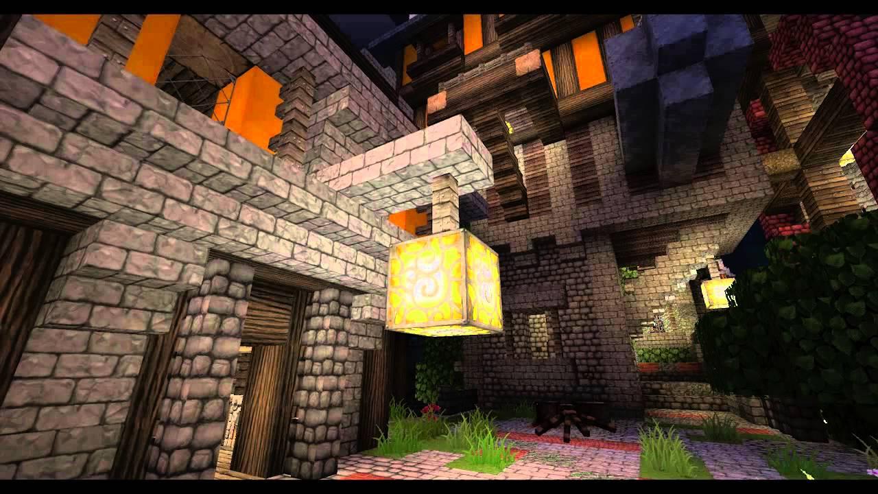 Minecraft CHROMA HILLS Animated Glowstone Lamps