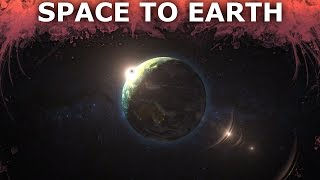 Space To Earth - After Effects and Cinema 4D Tutorial - 1/5