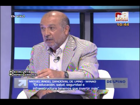 Destino 2016 - Programa completo con Miguel A  Sandoval de URNG WINAQ