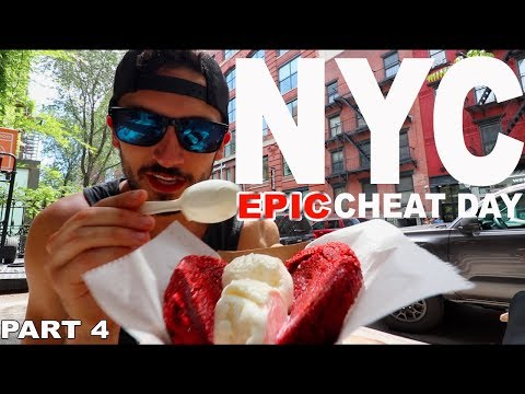 CHEAT DAY | New York City EPIC Cheat Day | Part 4
