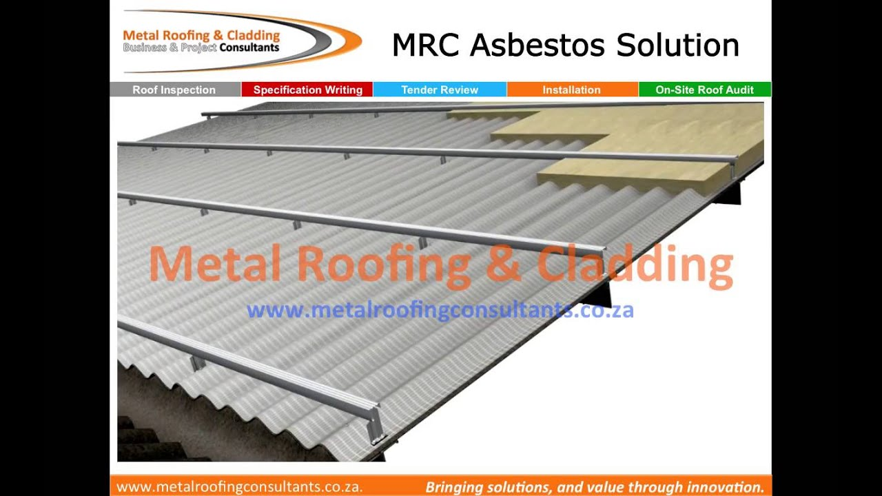 Asbestos Roof Refubishment Converting To Energy Efficient