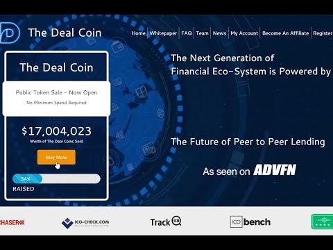The Deal Coin - blockchain lending platform! ICO