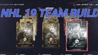 NHL 19 Team Build, First Pack Opening & Insane Pulls!
