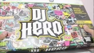Unboxing - DJ Hero + Turntable (pickUp)