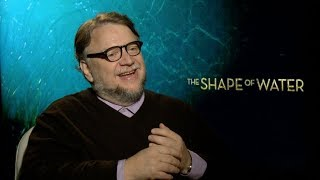 THE SHAPE OF WATER interviews - Guillermo Del Toro, Hawkins, Jones, Jenkins, Shannon, Spencer