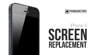 iPhone 5 Screen Repair Video - Complete Screen Version