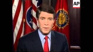 USA: REPUBLICAN PARTY RESPONSE TO CLINTON SPEECH