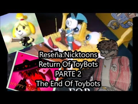 Reseña Nicktoons Return Of Toybots Parte 2 Youtube