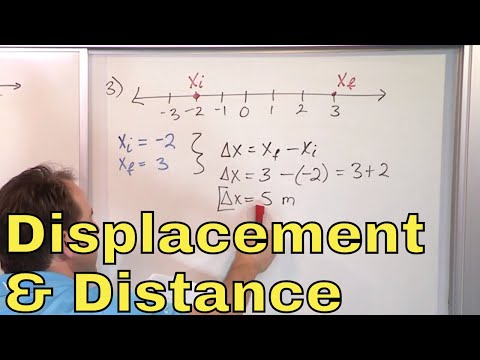 10 - Learn Distance and Displacement in Physics (Displacement Formula Vs. Distance Formula)