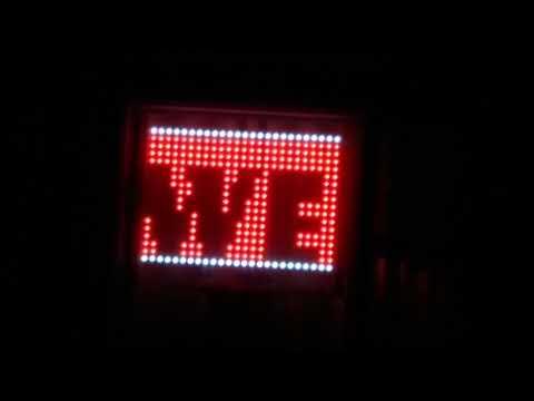Raspberry Pi Zero W powered LED sign.