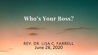 Who's Your Boss   June 28