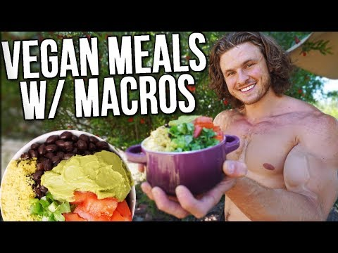 What I Eat In a Day As A Vegan Bodybuilder (TIPS TO GAIN MUS