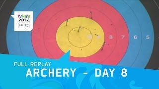 Archery - Day 8 Qualifications Mixed team event | Full Reply | Nanjing Youth Olympic Games