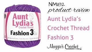 Aunt Lydias Crochet Thread Fashion 3 Product Review NM182