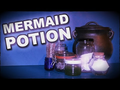 Real Mermaid Potion & Transfiguration...
