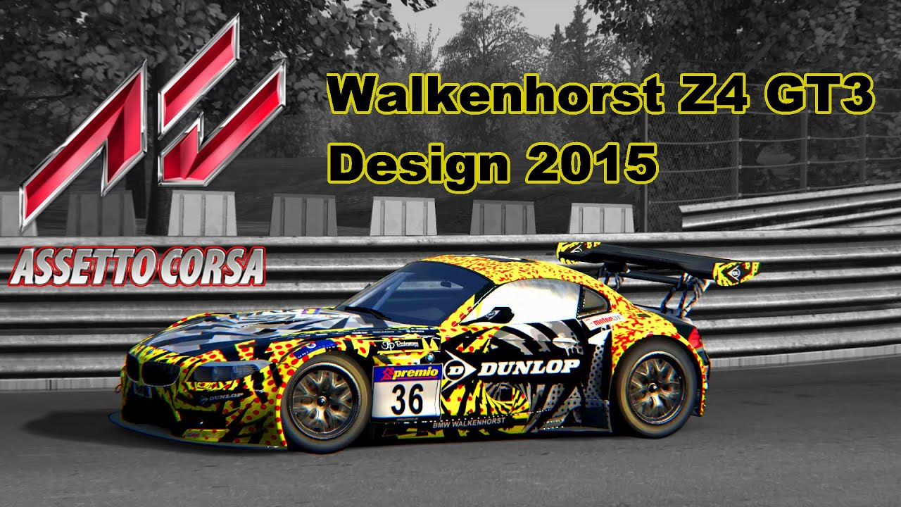 Assetto Corsa Walkenhorst Bmw Z4 Gt3 Design 2015 Nordschleife Lap Youtube