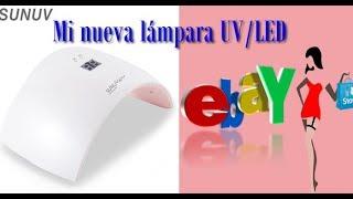 Review :Lámpara SUN 36W Profesional UV LED De Ebay