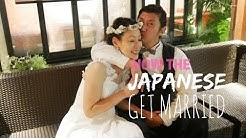 How To Japanese Wedding! Then & Now!