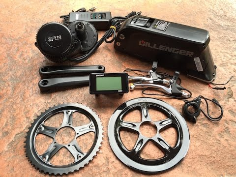 Dillenger Bafang Mid Drive Electric Bike Kit In For Review Report
