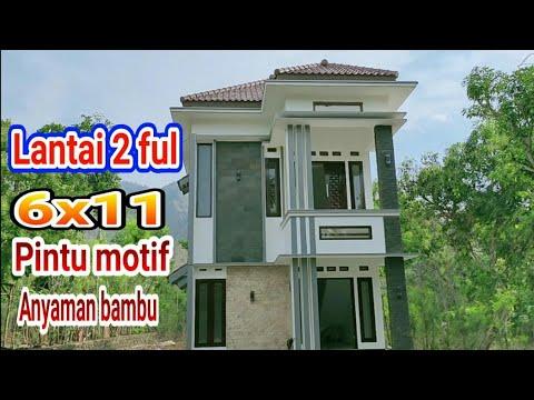 review rumah minimalis istimewa lantai 2 ukuran 6x11 - youtube