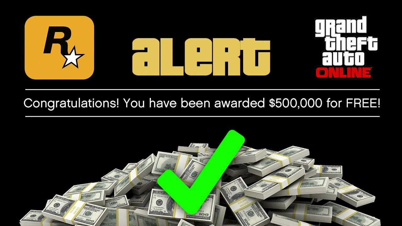 Rockstar Games to Award FREE MONEY $500,000 Just By Doing ONE SIMPLE Thing In GTA Online