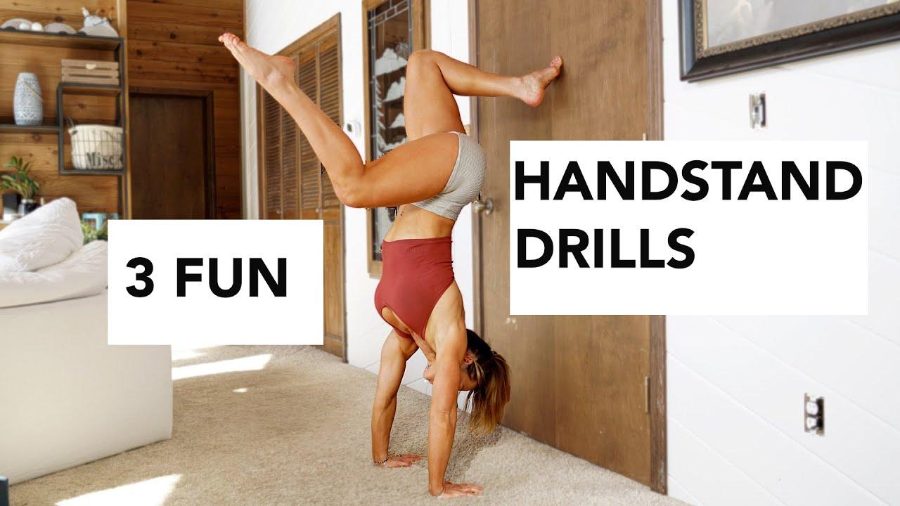3 Fun Handstand Drills