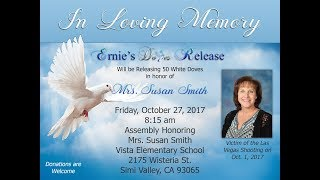 In Honor & Loving Memory Mrs  Susan Smith
