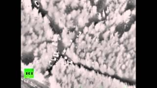 Минобороны опубликовало видео обстрела сирийской территории со стороны Турции(Минобороны РФ опубликовало видео, где запечатлен большой отряд террористов в приграничном лесном массиве,..., 2016-03-04T16:06:18.000Z)