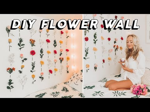 DIY Flower Wall: How To & Tips | GwenGwizEtc