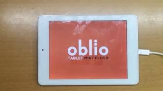 OBLIO TABLET MINT PLUS 8 ROM YÜKLEME